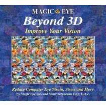 portada magic eye beyond 3d,improve your vision with magic eye