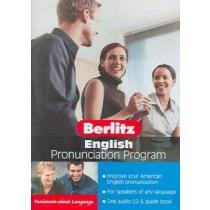 portada berlitz english pronunciation program