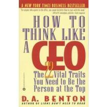 portada how to think like a ceo,the 22 vital traits you need to be the person at the top