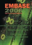 EMBASE List of Journals Indexed - Elsevier - Elsevier Science & Technology