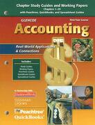 glencoe accounting: 1st yr course, chapt - mcgraw-hill glencoe - mc graw-hill