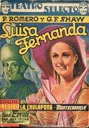 Teatro Selecto. Luis Fernanda / La Chulapona / Monte Carmelo - F Romero, G Fernández Shaw - Cisne. Especial Lírico, 4