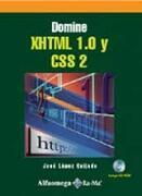 domine xhtml 1.0 y css2, c/cd - lopez -