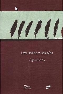 portada Los Libros y los Dias. Agenda 2014
