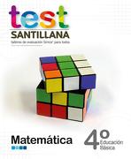 Test 4º Basico Matematica. Talleres Evaluacion Simce (Santillana) - Santillana - Santillana