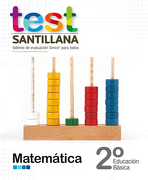 Test 2 Básico Matemática - Santillana - Santillana