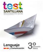 Test 3 Básico Lenguaje - Varios Autores - Santillana