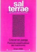 Sal Terrae, Revista De Teología Pastoral. Enero 1992. Tomo 80 / 1 (N. 942) -  - Sal Terrae