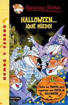 portada geronimo stilton halloween...¡que miedo!