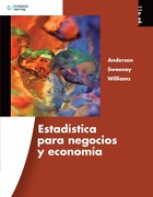 Estadistica Para Negocios Economia - David R. Anderson ,Dennis J. Sweeney ,Thomas A. Williams - Cengage Learning