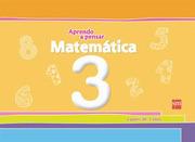 Cuaderno Matemática 3 Años (Aprendo a Pensar) (Sm) - Ediciones Sm - Sm Ediciones