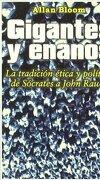 Gigante Y Enano (Econobook (gedisa)) - Allan Bloom - Gedisa