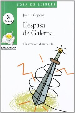portada L ' espasa de Galerna (Llibres Infantils I Juvenils - Sopa De Llibres. Sèrie Verda)