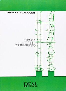 portada Técnica del Contrapunto (rm Pedag. Libros Tècnicos)