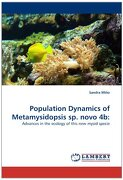 Population Dynamics of Metamysidopsis Sp. Novo 4b - Mi O., Sandra - LAP Lambert Academic Publishing