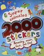 Super Animales 2000 Stickers - Parragon Books - Parragon