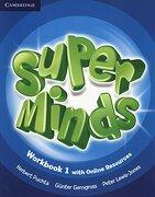 Super Minds Level 1 Workbook With Online Resources (libro en Inglés) - Herbert Puchta; GÜNter Gerngross; Peter Lewis-Jones - Cambridge University Press