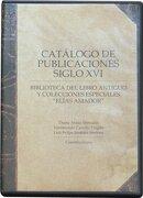 Catalogo De Publicaciones Xvi - Diana Arauz, Luis Felipe Jiménez  -