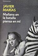 Manana en la Batalla Piensa en mi - Javier Marias - Debolsillo