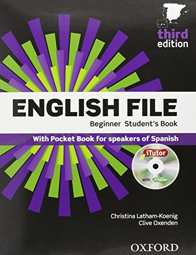 English file beginner 3rd edition, student's book and workbook with key pack (english file third edition)