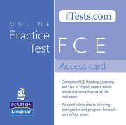 fce access card -  - pearson