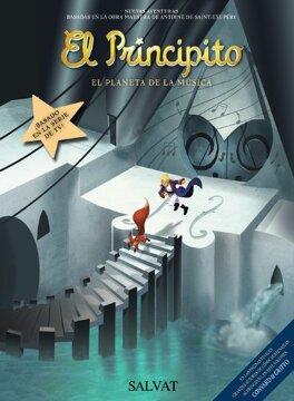 portada El Principito, 3. El Planeta de la Música (Castellano - Salvat - Comic - a. De Saint-Exupéry)