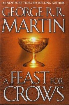 portada A Feast for Crows (libro en Inglés)