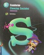 Cuaderno : ciencias sociales : 1 primaria : C. de Madrid (Paperback) - María del Mar de la Mata de la Mata José Javier García Iglesias - Editorial Luis Vives (Edelvives)
