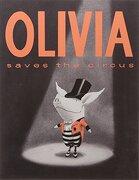 olivia saves the circus - ian falconer - simon + schuster uk