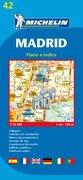 Plano Plegable Madrid (Planos Michelin) (libro en Inglés) - Michelin - Michelin