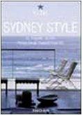 SYDNEY STYLE  - TASCHEN  - ART BOOKS EDICIONES LTDA (TASCHEN)