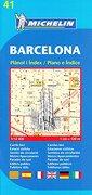 Plano Plegable Barcelona (Planos Michelin) (libro en Inglés) - Michelin - Michelin