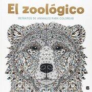 El Zoológico. Retratos Animales. Colorear (NB VARIOS)