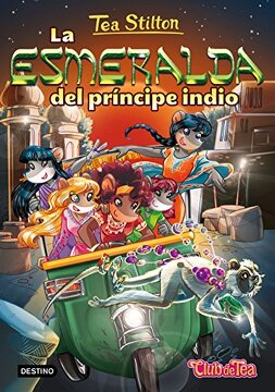 portada Tea Stilton 12. La Esmeralda del Príncipe Indio