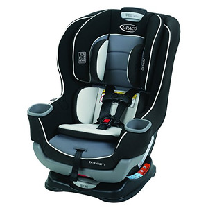 Graco Extend2Fit Convertible Car Seat, Ride Rear Facing Longer with Extend2Fit, Gotham  (B019EGMGR0-com) new