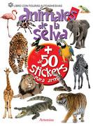 Animales de la Selva + de 50 Stickers para Armar - Artemisa Ediciones - Artemisa