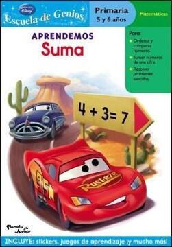 portada Col. Escuela de Genios-Cars Apre. Suma
