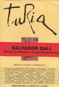 TURIA. REVISTA CULTURAL/ NUMERO 66-67. SALVADOR DALI. MARTIN DE RIQUER. JORGE WAGENSBENG.
