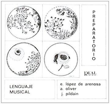 portada Lenguaje Musical, Preparatorio (rm Lenguaje Musical)