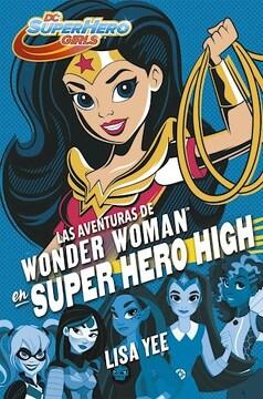 portada Aventuras de Wonder Woman en Super Hero High