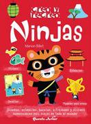 Ninjas [Stickers + Modelos p/ Armar + Estenciles + Desafios] - Billet, Marion - Planeta Junior