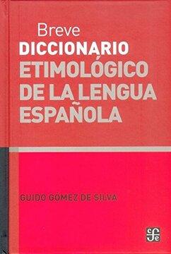 portada Breve Diccionario Etimologico de la Lengua Española