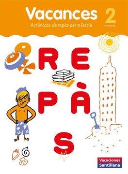 portada VACACIONES SANTILLANA 2 PRIMARIA REPAS - 9788491311515