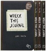 Wreck This Journal (4 Volume Set) (libro en Inglés) - Keri Smith - Perigee