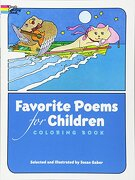favorite poems for children coloring book - susan gaber,susan gaber,coloring books - dover publications
