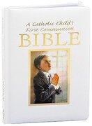 Catholic Child's First Communion Gift Bible-NAB-Boy (Regina Press)