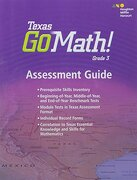 Houghton Mifflin Harcourt Go Math! Texas: Assessment Guide Grade 3