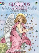 Glorious Angels Coloring Book - Green, John - Dover Publications