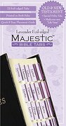 majestic bible tabs, lavender - na na -