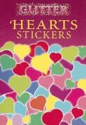 glitter hearts stickers - dover publications inc - dover publications
